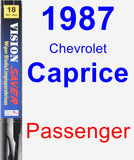 Passenger Wiper Blade for 1987 Chevrolet Caprice - Vision Saver