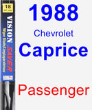 Passenger Wiper Blade for 1988 Chevrolet Caprice - Vision Saver