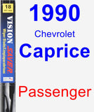 Passenger Wiper Blade for 1990 Chevrolet Caprice - Vision Saver