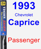 Passenger Wiper Blade for 1993 Chevrolet Caprice - Vision Saver