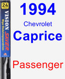 Passenger Wiper Blade for 1994 Chevrolet Caprice - Vision Saver