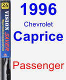 Passenger Wiper Blade for 1996 Chevrolet Caprice - Vision Saver