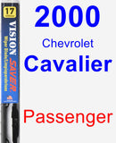 Passenger Wiper Blade for 2000 Chevrolet Cavalier - Vision Saver