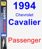 Passenger Wiper Blade for 1994 Chevrolet Cavalier - Vision Saver