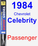 Passenger Wiper Blade for 1984 Chevrolet Celebrity - Vision Saver