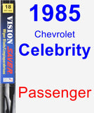 Passenger Wiper Blade for 1985 Chevrolet Celebrity - Vision Saver