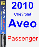 Passenger Wiper Blade for 2010 Chevrolet Aveo - Vision Saver