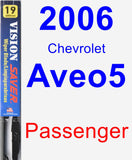 Passenger Wiper Blade for 2006 Chevrolet Aveo5 - Vision Saver