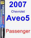 Passenger Wiper Blade for 2007 Chevrolet Aveo5 - Vision Saver
