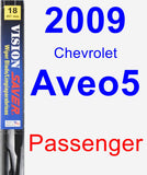Passenger Wiper Blade for 2009 Chevrolet Aveo5 - Vision Saver