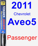 Passenger Wiper Blade for 2011 Chevrolet Aveo5 - Vision Saver