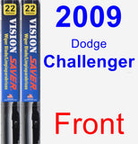 Front Wiper Blade Pack for 2009 Dodge Challenger - Vision Saver
