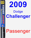 Passenger Wiper Blade for 2009 Dodge Challenger - Vision Saver