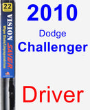 Driver Wiper Blade for 2010 Dodge Challenger - Vision Saver