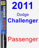 Passenger Wiper Blade for 2011 Dodge Challenger - Vision Saver