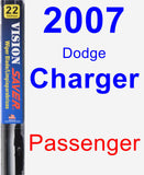 Passenger Wiper Blade for 2007 Dodge Charger - Vision Saver