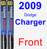 Front Wiper Blade Pack for 2009 Dodge Charger - Vision Saver