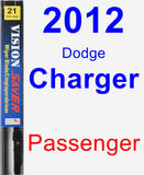 Passenger Wiper Blade for 2012 Dodge Charger - Vision Saver