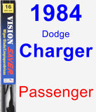 Passenger Wiper Blade for 1984 Dodge Charger - Vision Saver