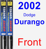 Front Wiper Blade Pack for 2002 Dodge Durango - Vision Saver