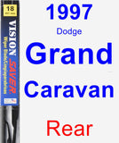 Rear Wiper Blade for 1997 Dodge Grand Caravan - Vision Saver