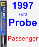 Passenger Wiper Blade for 1997 Ford Probe - Vision Saver