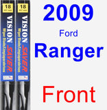Front Wiper Blade Pack for 2009 Ford Ranger - Vision Saver