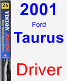Driver Wiper Blade for 2001 Ford Taurus - Vision Saver
