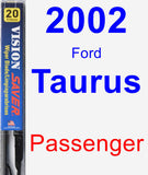 Passenger Wiper Blade for 2002 Ford Taurus - Vision Saver