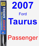 Passenger Wiper Blade for 2007 Ford Taurus - Vision Saver