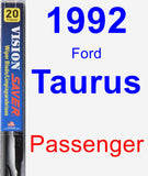 Passenger Wiper Blade for 1992 Ford Taurus - Vision Saver