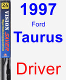 Driver Wiper Blade for 1997 Ford Taurus - Vision Saver