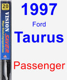 Passenger Wiper Blade for 1997 Ford Taurus - Vision Saver