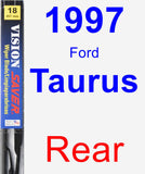 Rear Wiper Blade for 1997 Ford Taurus - Vision Saver