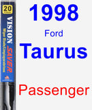 Passenger Wiper Blade for 1998 Ford Taurus - Vision Saver