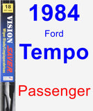 Passenger Wiper Blade for 1984 Ford Tempo - Vision Saver