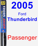 Passenger Wiper Blade for 2005 Ford Thunderbird - Vision Saver