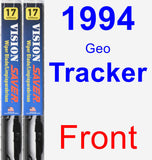 Front Wiper Blade Pack for 1994 Geo Tracker - Vision Saver