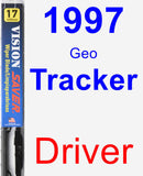 Driver Wiper Blade for 1997 Geo Tracker - Vision Saver