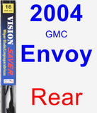 Rear Wiper Blade for 2004 GMC Envoy - Vision Saver