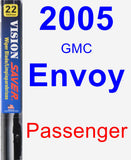 Passenger Wiper Blade for 2005 GMC Envoy - Vision Saver