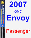 Passenger Wiper Blade for 2007 GMC Envoy - Vision Saver