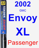 Passenger Wiper Blade for 2002 GMC Envoy XL - Vision Saver