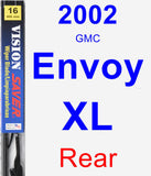 Rear Wiper Blade for 2002 GMC Envoy XL - Vision Saver