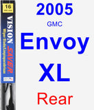 Rear Wiper Blade for 2005 GMC Envoy XL - Vision Saver
