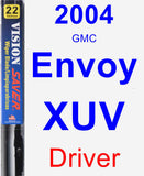 Driver Wiper Blade for 2004 GMC Envoy XUV - Vision Saver