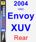 Rear Wiper Blade for 2004 GMC Envoy XUV - Vision Saver