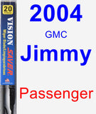 Passenger Wiper Blade for 2004 GMC Jimmy - Vision Saver