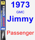Passenger Wiper Blade for 1973 GMC Jimmy - Vision Saver