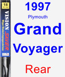 Rear Wiper Blade for 1997 Plymouth Grand Voyager - Vision Saver